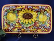 Tuscan Sunflower & Lemons Serving Platter
