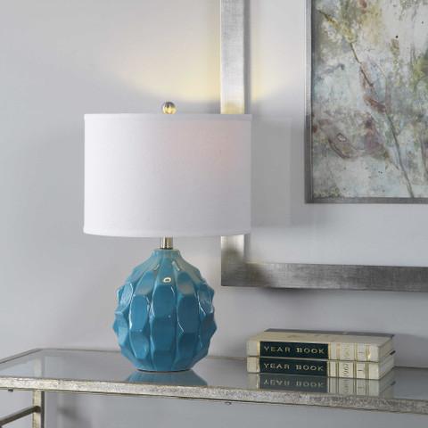 Blue Catania Ceramic Lamp