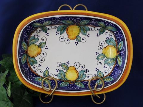Deruta Lemon Serving Dish