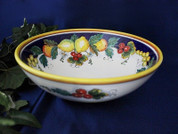 Deruta Lemon Serving Bowl