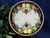 Deruta Lemon Platter, Deruta Plate