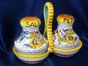Deruta Raffaellesco Salt & Pepper Set