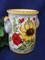 Italian Sunflowers Poppies Utensil Holder Wine Cooler