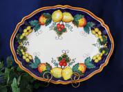 Italian Lemon Fruit Serving Platter