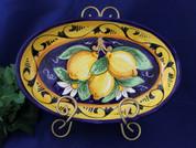Vietri Lemon Serving Dish
