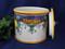 Deruta Lemon Biscotti Jar