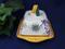 Deruta Italy Raffaellesco Butter Dish, Deruta Butter Dish
