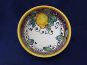 Deruta Lemon Olive Oil Dip Bowl