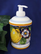 Italian Ceramic Soap Pump Made In Italy
