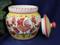 Orvieto Garlic Jar, Gallo Rooster Garlic Jar