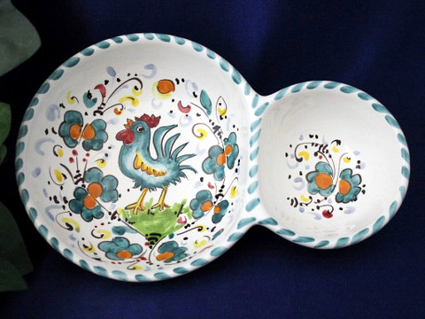 Orvieto Olive Tray, Gallo Rooster Olive Tray