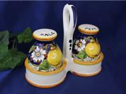 Tuscan Lemons Salt & Pepper Set