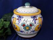 Deruta Raffaellesco Garlic Onion Jar