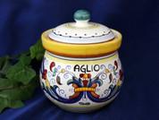 Deruta Ricco Garlic Onion Jar