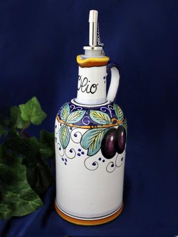 Deruta Olive Olive Oil Bottle