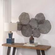 Lotus Leaf Metal Wall Art