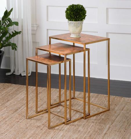Copper Nesting Tables