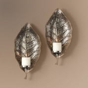Floating Leaves Wall Sconces