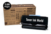 TIW Lexmark E460dn Replacement Black Toner Cartridge for Lexmark E460, E460dn, E460dtn, E460dw Printers High Yield 15,000 Pages, Cartridge E460X11A, E460X21A  Perfect For Home and Commercial use