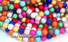 1 Strand Acrylic 10mm Japanese Round MIRACLE Beads MIX *