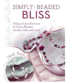 "Book ""Simply Beaded Bliss ""  by Heidi Boyd Mixed Media Jewelry *"