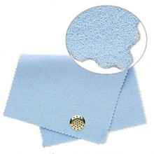 1 Moonshine Blue Polishing Cloth  ~ Quickly & Safely Cleans Metal Jewelry