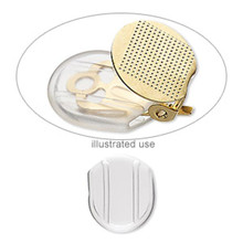 10 OR 100 Clear Soft Plastic Clip On Earring Comfort Pads Clip-Slips