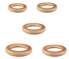 Wooden Game Toss Rings - 5 Different Sizes Available