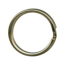 """12 Antiqued Brass Plated Steel Split Rings ~ Key Rings ~ 20mm ~ 3/4"""""""