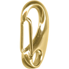 1 Large Gold Plated Self Closing Lobster Claw Clasps ~ 32x17mm *