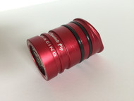 Beta spark arrestor insert, side, red