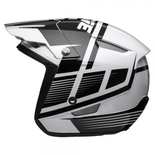 Helmet HT1 Struktur, black/ white
