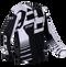 2019 Clice Zone men's jersey, white/black