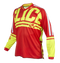 2019 Clice Claw Enduro-MX Jersey , red/fluor