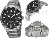 Seiko SKA623 Men's Core Kinetic Stainless Steel Blue Analog Automatic Watch