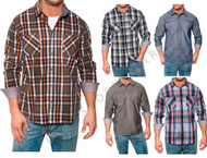 MEN'S WEATHERPROOF 1948 VINTAGE CLASSIC WOVEN LONG SLEEVE SHIRT