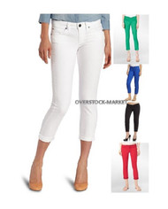 CALVIN KLEIN POWER STRETCH SKINNY CROP JEANS