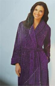 CAROLE HOCHMAN Plush SOFT Polyester Fleece Wrap Robe