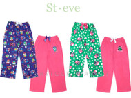 St. Eve Girls 2 Pair Fleece Sleep Pants