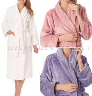 Carole Hochman Plush Fleece Wrap Robe