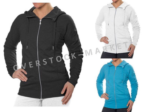 2807ffff7 CHAMPION ELITE WOMEN S LONG SLEEVE FULL ZIP HOODED ACTIVE JACKET ...