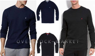 MEN'S POLO RALPH LAUREN SLEEPWEAR WAFFLE KNIT THERMAL SHIRT