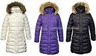 WEATHERPROOF GIRLS LONG WINTER PARKA PUFFER COAT
