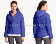 WOMEN'S ANDREW MARC HOODED PACKABLE LIGHTWEIGHT PREMIUM DOWN JACKET