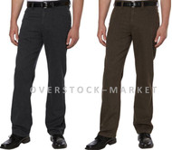 MENS KENNETH COLE NEW YORK UNCUT CORDUROY BRUSHED TWILL PANTS