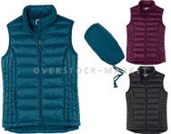 WEATHERPROOF DUCK DOWN 650 FILL PUFFER PACKABLE VEST