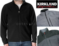 Mens Kirkland Signature 4 Way Stretch Weatherproof Soft Shell Jacket