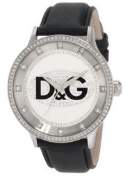 Dolce & Gabbana Women's DW0503 Prime Time Stone Dial and Bezel Watch