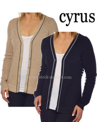 Women's Cyrus Thermal Button Front Cardigan