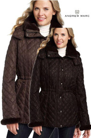 WOMENS MARC NEW YORK ANDREW MARC ADELE LONG WOOL BLEND JACKET COAT VARIETY NEW